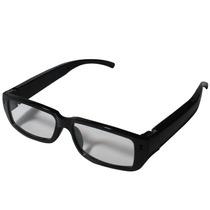 Óculos C/ Lentre Sem Grau Espião Filmadora Vídeo Som Fotos C
