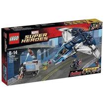 Lego 76032 -perseguição Vingadores Na Cidade Quinjet -722 Pç