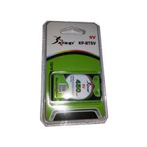 Bateria 9v Recarregavel Super Duravel