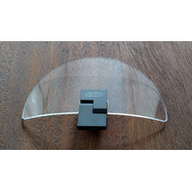 Defletor Acrilico Para Bolha / Parabrisa - Universal Gr 21cm