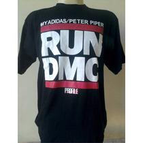 Camisa Camiseta Blusa Run Dmc Rap Hip Hop Old School Swag