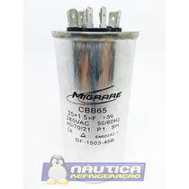 Capacitor Triplo 25+1.5 Uf 380va Para Ar Condicionado