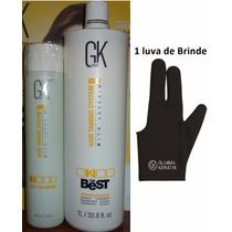 Escova Progressiva Gk Hair The Best Sem Formol E Shampoo Ph