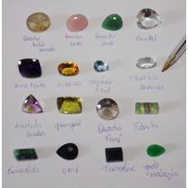 Pedras Preciosas Lote 260 Cts Esmeralda Topazio Ametista....