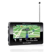 Navegador Gps Automotivo Tracker Com Tv Digital 1 Ano Garant
