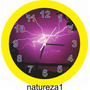 Relógio De Parede 30cm Presente Natureza