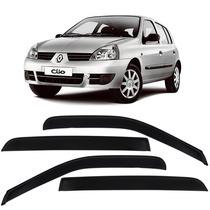 Calha De Chuva Defletor Renault Clio Fase 2 - 4 Portas