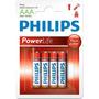 Pilha Alcalina Aaa Palito Caixa Com 48 Unidades Philips
