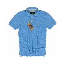 Camisa Polo Azul Jeans Qualidade De Importada Original S&f