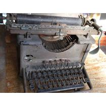 Maquina De Escrever Remington Mod. 12 - Só Retirada