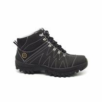 Sapato Coturno Bota Masculin Casual Executiv Adventure Soci