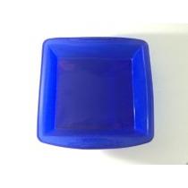 Forma Bolo Silicone Quadrada-torta Doces Assadeira 250º Az