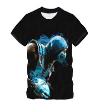 Camisa, Camiseta Game Mortal Kombat - Estampa Total Dry Fit
