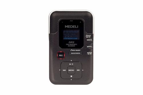 Gravador Digital Portátil Com Cartão Sd Medeli - Dr2