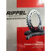 Kit Relação Transmissão Dafra Next 250 - Riffel