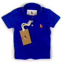 Camisa Polo/body Infantil Qualidade Importada Original Cor10