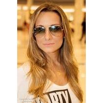 Óculos De Sol Feminino Aviador 3025/3026 Frete Grátis !!!