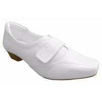 Sapato Branco Para Área Hospitalar