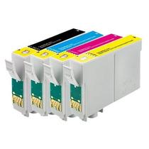 Kit 04 Cartuchos Epson 194 | Xp 204 | Xp104 Cmyk Compatíveis