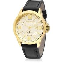 Relógio Technos Masculino Pulseira De Couro 2115knc/2x