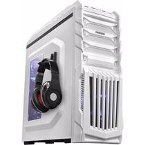 Kit Gabinete Tiger Branco + Fonte Corsair 500w Real Cx500
