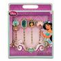 Kit Acessorios P/ Cabelo Jasmine Alladin Disney Lançamento