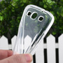 Capa Silicone Tpu Gel Galaxy S3 I9300 + Pelicula Vidro