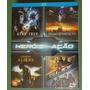 Box Blu-ray 4 Filmes: Star Trek Transformers Gi Joe Cowboys
