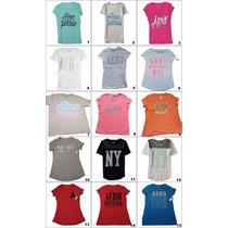 Camiseta Feminina Aeropostale Original Pp/gg Modelos Lindos