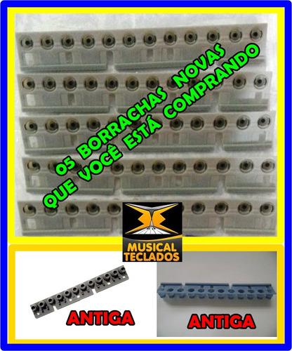 Kit 5 borrachas teclado yamaha psr 185 psr 190 frete for Yamaha psr 190 manual