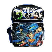 Mochila Média Liga Da Justiça - Batman, Superman - A00025-2