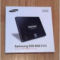 Ssd Samsung 850 Evo 500gb 3d V-nand Sata 540/520mb/s Lacrado