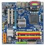 Placa Mãe 775 Ddr2 Gigabyte  + Core 2 Duo E8400 3.0 + 1gb