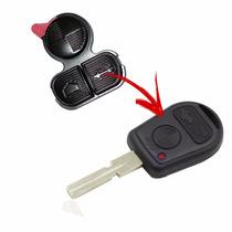Botão Emborrachado 3 Botões P/ Chave Bmw E38 E36 E39 Z3 Z4