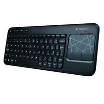 Teclado Logitech Wireless Touch K400 Usb Preto