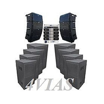 Line Array C/ Sub 1x12+ti Snake + Machine- 27800 Rms - 4vias