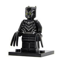 Boneco Pantera Negra Marvel Lego Compatível Minifigure