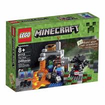 Lego 21113 Minecraft A Caverna - 249 Pcs - C/ Nota Fiscal