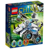 Brinquedo Lego Chima Arremessador De Pedras De Rogon 70131