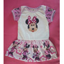Body Personalizado Minnie Com Sainha