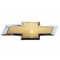 Emblema Chevrolet Gravata Dourada Grade Celta Prisma Agile