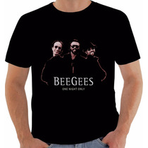Camiseta Bee Gees One Night Only