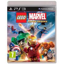 Jogo Playstation 3 Lego Marvel Super Heroes