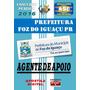Apostila Prefeitura Foz Do Iguacu Pr Agente De Apoio 2016