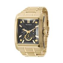 Relógio Masculino Technos Sports Os2aat/4p 44mm Dourado