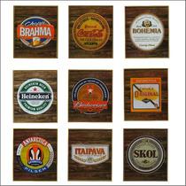 Monte Sua Decoração - Quadro Mdf Cerveja -modelos A Escolher