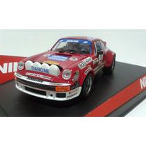 Carrinho Autorama Ninco 1/32 Porsche 911 Sc Danone