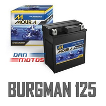 Bateria De Moto Suzuki Burgman 125