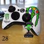 Skin Adesivo De Controle Xbox360 Verniz Fosco Nerdbrasil