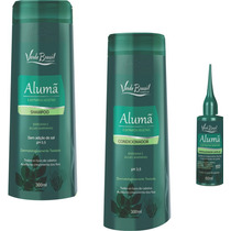 Shampoo Condicionador E Fortalecedor Alumã Antiqueda
